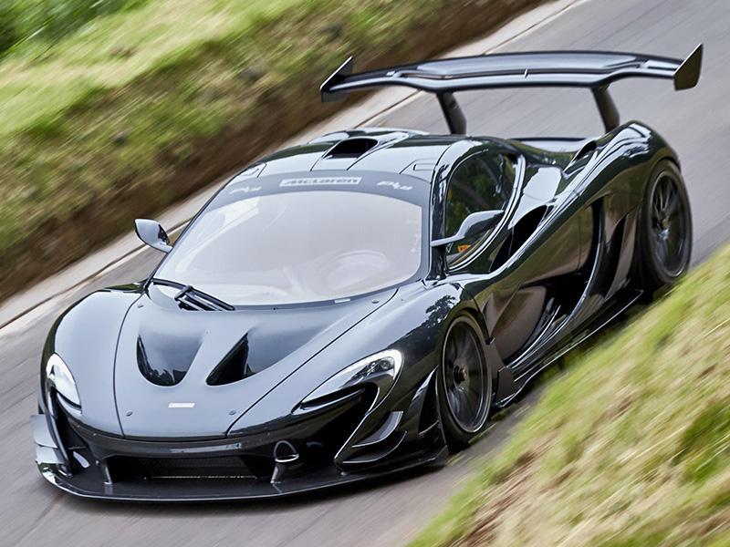 McLaren выпускает самый черный суперкар