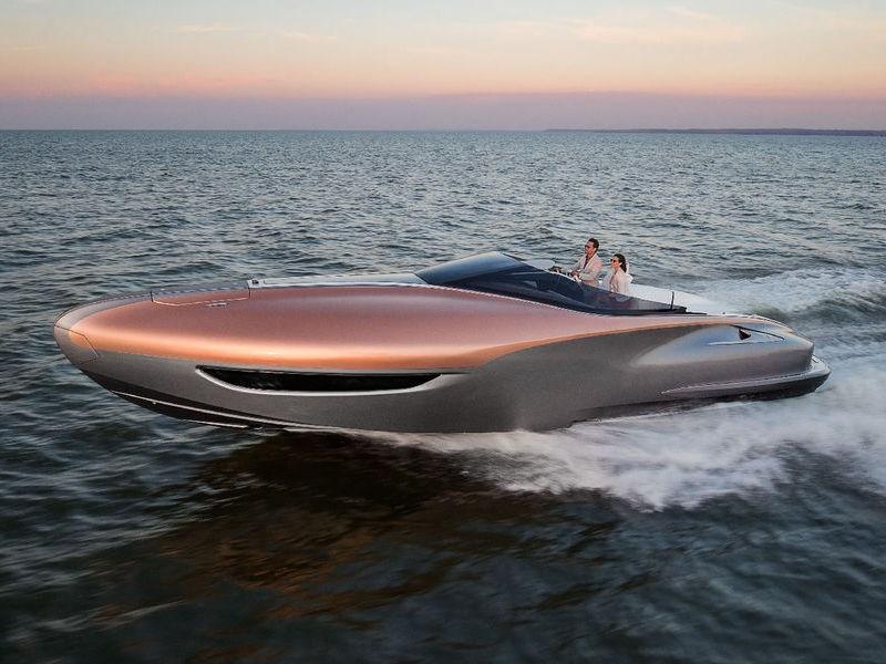 Lexus начал заниматься яхтами